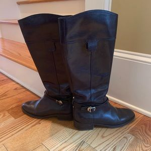 Tory Burch GUC size 10 brown riding boots